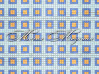Blue Yellow Squares 23